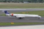 rjジジィさんが、デュッセルドルフ国際空港で撮影したスカンジナビア航空 CL-600-2D24 Regional Jet CRJ-900ERの航空フォト(写真)