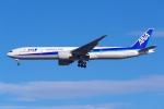 PASSENGERさんが、ロサンゼルス国際空港で撮影した全日空 777-381/ERの航空フォト(写真)