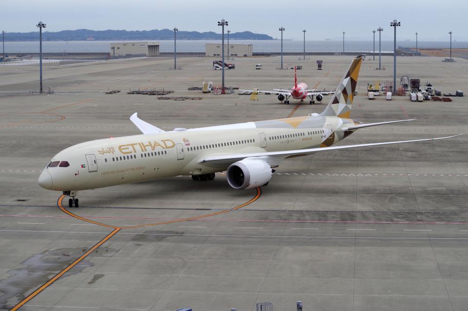 yabyanさんのエティハド航空 Boeing 787-10 (A6-BMD) 航空フォト