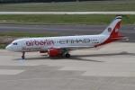 rjジジィさんが、デュッセルドルフ国際空港で撮影したエア・ベルリン A320-214の航空フォト(写真)