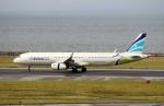 ハピネスさんが、中部国際空港で撮影したエアプサン A321-231の航空フォト(飛行機 写真・画像)