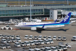 らむえあたーびんさんが、羽田空港で撮影した全日空 737-881の航空フォト(写真)