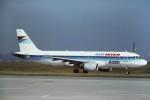 tassさんが、パリ オルリー空港で撮影したエールアンテール A320-111の航空フォト(飛行機 写真・画像)