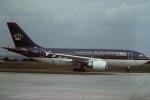 tassさんが、パリ オルリー空港で撮影したロイヤル・ヨルダン航空 A310-304の航空フォト(写真)