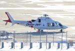 E-75さんが、函館空港で撮影した鹿児島国際航空 AW109SP GrandNewの航空フォト(写真)