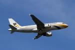 BTYUTAさんが、スワンナプーム国際空港で撮影したミャンマー国際航空 A319-111の航空フォト(写真)
