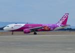 じーく。さんが、長崎空港で撮影したピーチ A320-214の航空フォト(飛行機 写真・画像)