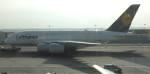 Yasuhiro Takeuchiさんが、フランクフルト国際空港で撮影したルフトハンザドイツ航空 A380-841の航空フォト(写真)