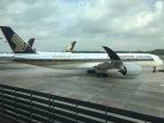 Yasuhiro Takeuchiさんが、シンガポール・チャンギ国際空港で撮影したシンガポール航空 A350-941XWBの航空フォト(写真)