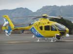 ランチパッドさんが、静岡ヘリポートで撮影した中日本航空 EC135P2+の航空フォト(写真)