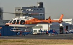 Soraya_Projectさんが、東京ヘリポートで撮影した新日本ヘリコプター 407の航空フォト(写真)