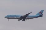 HYTRさんが、福岡空港で撮影した大韓航空 747-4B5の航空フォト(写真)