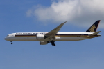 ★azusa★さんが、シンガポール・チャンギ国際空港で撮影したシンガポール航空 787-10の航空フォト(写真)