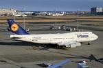 スポット110さんが、羽田空港で撮影したルフトハンザドイツ航空 747-430の航空フォト(写真)