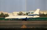 スポット110さんが、羽田空港で撮影したプライベートエア Falcon 8Xの航空フォト(写真)