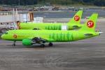 Kuuさんが、成田国際空港で撮影したS7航空 A320-214の航空フォト(飛行機 写真・画像)