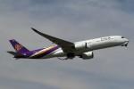 BTYUTAさんが、スワンナプーム国際空港で撮影したタイ国際航空 A350-941XWBの航空フォト(写真)