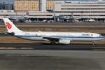 たみぃさんが、羽田空港で撮影した中国国際航空 A330-343Xの航空フォト(写真)