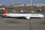 たみぃさんが、羽田空港で撮影したフィリピン航空 777-3F6/ERの航空フォト(写真)