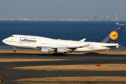 たみぃさんが、羽田空港で撮影したルフトハンザドイツ航空 747-430の航空フォト(飛行機 写真・画像)