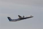 さんたまるたさんが、中部国際空港で撮影したANAウイングス DHC-8-402Q Dash 8の航空フォト(写真)