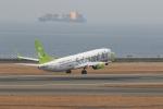 さんたまるたさんが、中部国際空港で撮影したソラシド エア 737-81Dの航空フォト(写真)