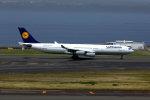 奈良ン児さんが、中部国際空港で撮影したルフトハンザドイツ航空 A340-313Xの航空フォト(写真)