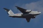 木人さんが、習志野演習場で撮影した航空自衛隊 C-2の航空フォト(写真)