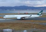 PGM200さんが、関西国際空港で撮影したキャセイパシフィック航空 A350-1041の航空フォト(写真)
