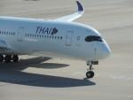 mori15moriさんが、中部国際空港で撮影したタイ国際航空 A350-941XWBの航空フォト(写真)