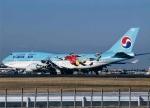JA8589さんが、成田国際空港で撮影した大韓航空 747-4B5の航空フォト(写真)