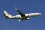 BTYUTAさんが、スワンナプーム国際空港で撮影したミャンマー・ナショナル・エアウェイズ 737-86Nの航空フォト(写真)