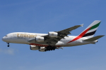 ★azusa★さんが、シンガポール・チャンギ国際空港で撮影したエミレーツ航空 A380-861の航空フォト(写真)
