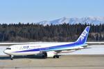 空が大好き!さんが、秋田空港で撮影した全日空 767-381の航空フォト(写真)