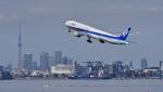 オキシドールさんが、羽田空港で撮影した全日空 777-381の航空フォト(写真)