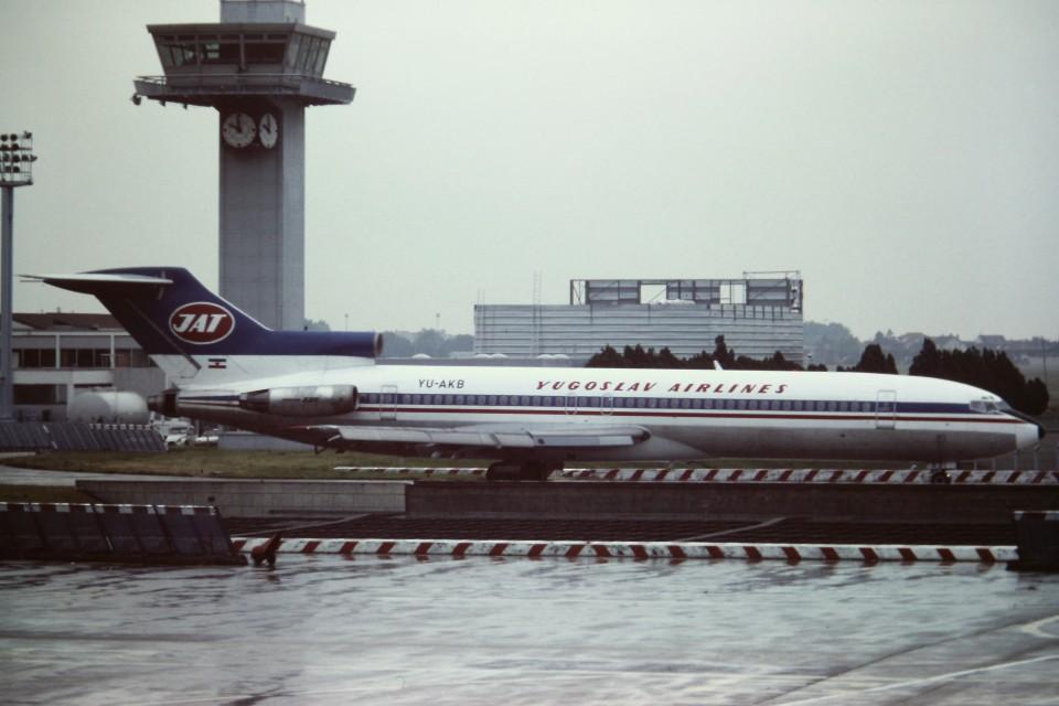 tassさんのJAT - Yugoslav Airlines Boeing 727-200 (YU-AKB) 航空フォト