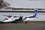 空が大好き!さんが、秋田空港で撮影したANAウイングス DHC-8-402Q Dash 8の航空フォト(写真)