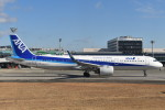 空が大好き!さんが、伊丹空港で撮影した全日空 A321-272Nの航空フォト(写真)