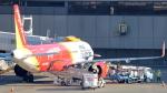 誘喜さんが、成田国際空港で撮影したベトジェットエア A321-271Nの航空フォト(写真)