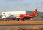 LOTUSさんが、関西国際空港で撮影したベトジェットエア A321-211の航空フォト(写真)