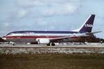 tassさんが、フォートローダーデール・ハリウッド国際空港で撮影したUSエアウェイズ 737-301の航空フォト(飛行機 写真・画像)