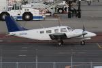 endress voyageさんが、岡山空港で撮影した大阪航空 PA-34-220T Seneca Vの航空フォト(写真)
