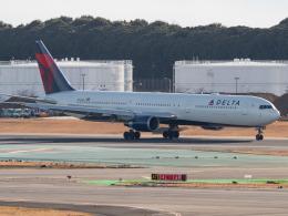 名無しの権兵衛さんが、成田国際空港で撮影したデルタ航空 767-432/ERの航空フォト(飛行機 写真・画像)