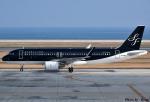 れんしさんが、北九州空港で撮影したスターフライヤー A320-214の航空フォト(写真)