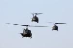 Wasawasa-isaoさんが、習志野演習場で撮影した陸上自衛隊 UH-1Jの航空フォト(写真)