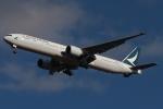 木人さんが、成田国際空港で撮影したキャセイパシフィック航空 777-367/ERの航空フォト(写真)