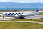 Ariesさんが、関西国際空港で撮影したフィンエアー A350-941XWBの航空フォト(写真)