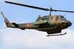 ちゅういちさんが、習志野演習場で撮影した陸上自衛隊 UH-1Jの航空フォト(写真)