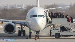 YuukiToonoさんが、蘭州中川国際空港で撮影した瑞麗航空 737-86Jの航空フォト(飛行機 写真・画像)