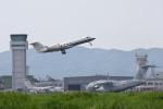 おぺちゃんさんが、米子空港で撮影した航空自衛隊 U-4 Gulfstream IV (G-IV-MPA)の航空フォト(写真)